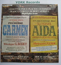 OPO 1003 - CARMEN / AIDA Highlights - DOMINGO / PRICE - Excellent Con LP Record