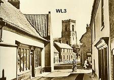 North Norfolk Postcard - Wells next the Sea - Church Plain - Circa 1935 - WL3