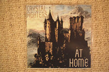 "CRYSTAL FIGHTERS ""At Home"" 3 track promo CD inc Fusty Delight remix"
