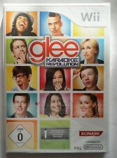 GLEE KARAOKE REVOLUTION VOL 1 Wii GERMAN & ENGLISH LANGUAGE SOLUS GAME new