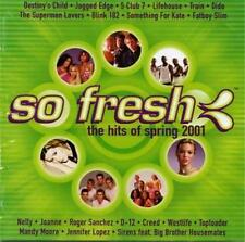 SO FRESH The Hits Of Spring 2001 CD - Blink 182 Creed Westlife Toploader Nelly