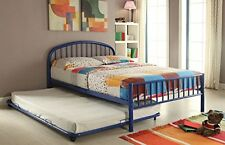 Acme Furniture 30465F-BU Cailyn Full Bed, Blue NEW