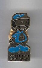 RARE PINS PIN'S .. AUTO CAR CITROEN ACCIDENT USINE 5 ANS ~AW