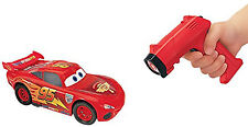 Disney Cars 6 Inch RC IR Lightning McQueen Ages 4+ Radio Remote Control Car Toy