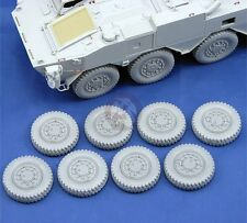 Djiti's 1/35 Japanese JGSDF Type 96 WAPC Wheels Set (8 pieces) (Trumpeter) 35008