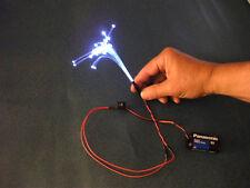 200feet .50mm FIBER OPTIC FIBER Monster model LIGHTING etc + FREE illuminator b4