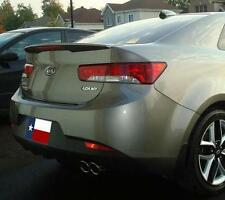Fits: Kia Forte Koup-R 2010-2013 Flush Mount W/LED Rear Spoiler PAINT to MATCH