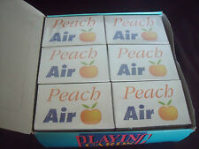 FULL BOX OF 24 VINTAGE PEACH AIR L-1011 TRISTAR PLAYING CARDS, AVIATION, AIRLINE