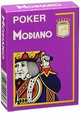 Poker Modiano Purple Playing Cards Deck brand new sealed