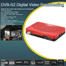Full HD 1080P DVB-S2/S Digital Video Broadcast Receiver Set Top Box Network IPTV