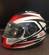 CKX HELMET MODEL: RR710-RSV COLOR: PRIDE WHITE/RED SIZE: ALL SIZES
