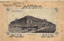 INDIANAPOLIS BREWING COMPANY ST. LOUIS MISSOURI WORLD'S FAIR EXPO POSTCARD 1904