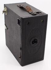 Ensign Houghton Butcher E29 Box Camera 129 roll film c. 1930 Working shutter GC