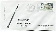 1975 Exametnet Super Arcas 35/77 Kourou Guyane Francaise Ville Spatiale SPACE