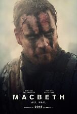 Macbeth Movie Poster (24x36) - Michael Fassbender, Elizabeth Debicki v2