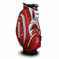 NEW MODEL! Team Golf Wisconsin Badgers Victory Cart Golf Bag Red/White 23973