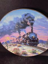 Hamilton 1994 Romance of the Rails SUNSET  LIMITED Train Ltd Ed Plate