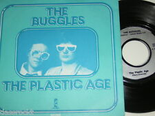 """7"""" - The Buggles / Plastic Age & Plastic Age - France 1980 # 3277"""