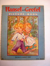 Darling 1938 Linen Hansel and Gretel Picture Book Illustrated by Margot Voigt *