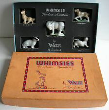 NICE BOXED SET WADE 1st FIRST WHIMSIES ENGLISH COUNTRY ANIMALS SET 3 1955-1959