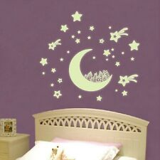Glow in Darkness Star House Child Room Nursery Mural Decal Art Home Wall Sticker