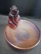 DAUM MONKEY COUPELLE  HOROSCOPE BOWL   # 5193/C    NIB MINT  3 1/2  ""