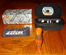 ZINK CALL OF DEATH COD GOOSE CALL+CASE+BAND+DVD+REEDS ORANGE MARBLEADE NEW!