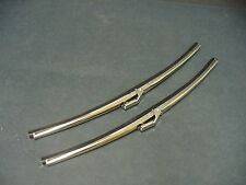 Ford windshield wiper blades Fairlane Falcon Torino Galaxie Econoline stainless