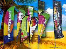 Beach Feather Flags/Custom printed flags/Corporate flags/Custom flags/Banners