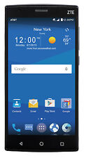 NEW IN BOX ZTE ZMAX 2 Z958 16GB BLACK AT&T GSM UNLOCKED SMARTPHONE