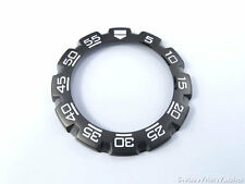 New TAG Heuer Formula 1 Bezel WAC1110-0 CAC1110-0 CAC1111-0 Black F1 39 mm