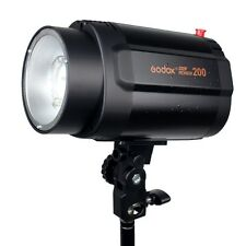 Pro Godox Mini Pioneer 200 200Ws Studio Strobe Flash Light Lamp Head for weding