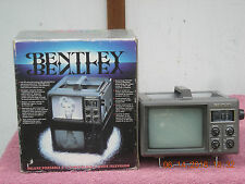 Vintage Bentley Deluxe Portable 4.5-Inch Black & White Television NEW In Box