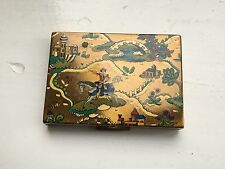 Vogue Vanities 'Arabian Nights' Circa 1940's Powder Compact - No Reserve