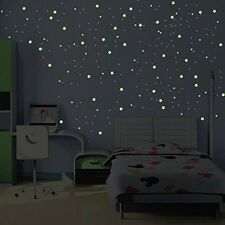 Milky Way Glow in the Dark Wall Sticker - 240 stars and planets