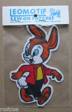 Rabbit Vintage Leomotif Cloth Sew On Patch Badge Crafting Sewing