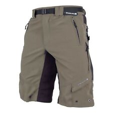 Endura Men's Hummvee MTB/Commuter Cycling Shorts-Olive-XL-Baggy-Bicycle-New