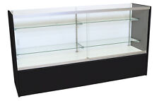 Front Open Loading Display Showcase Retail Fixture Black 70 Inches Assembled NEW