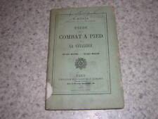 1877.étude sur le combat à pied de la cavalerie / Bonie