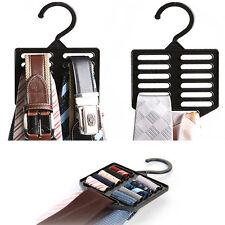 13 hole Belt Necktie Scarf Muffler Tie Hanger Rack Holder Closet Organizer