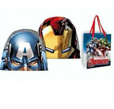 Avengers Marvel Captain america Iron man thor Mütze Hut gr. 56 + Geschenk Tasche
