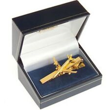 Airbus A340 Tiebar 22 Carat Gold Plate - A-340