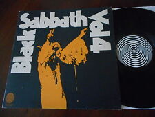 BLACK SABBATH Vol. 4 UK Swirl VERTIGO LP FOC + Booklet 1972 rare