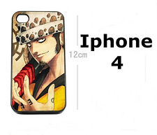 !!! One Piece Trafalgar Law Anime/Manga Cellulare Guscio Case per iPhone 4/4s!!!