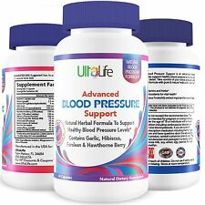 UltaLife's Advanced Blood Pressure Supplements are the BEST HIGH BLOOD PRESSURE