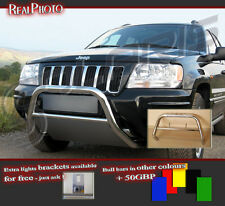 JEEP GRAND CHEROKEE 99-04 A BAR WITHOUT AXLES NUDGE BAR !! STAINLESS STEEL !