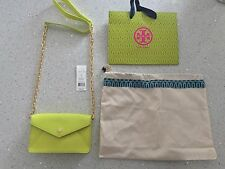 NEW, 100% Authentic Tory Burch Robinson Envelope Clutch Crossbody