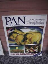 PAN, Zeitschrift für Kunst und Kultur, 1991, Nr. 4