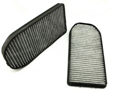 2X Carbon Cabin Air Filter for BMW E38 750iL 725tds 728i 728iL 730d Set Of 2