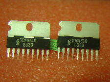 2 pcs TDA4610  org.IC SIEMENS CTV-EW-Correction  Top Zustand  NEU NOS